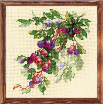 click here to view larger image of Branch Of Plum (counted cross stitch kit)