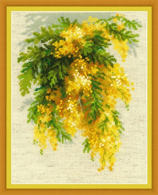 click here to view larger image of Mimosa (counted cross stitch kit)