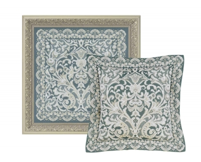 click here to view larger image of Cushion/Panel Viennese Lace (counted cross stitch kit)