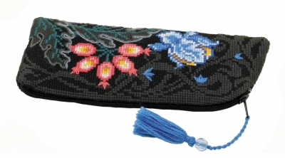 click here to view larger image of Old Fairytale Purse/Eyeglass Case (counted cross stitch kit)