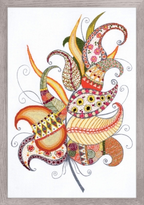 click here to view larger image of Magic Feather (stamped cross stitch kit)