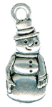 click here to view larger image of Meadow Snowman Charm (charm)