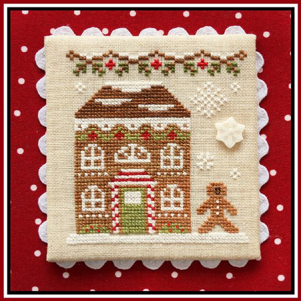 click here to view larger image of Gingerbread House 8 - Gingerbread Village 11 (chart)