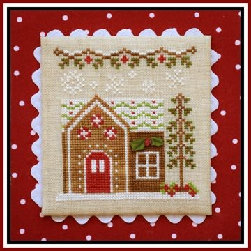 click here to view larger image of Gingerbread House 6 - Gingerbread Village 9 (chart)