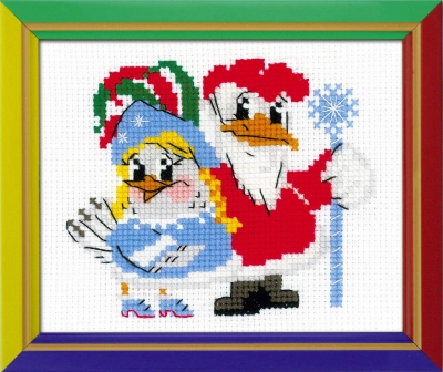 click here to view larger image of New Year Masquerade! - Happy Bee (counted cross stitch kit)