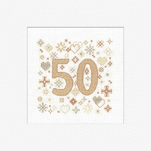 click here to view larger image of 50 - Occasions Greeting Cards (counted cross stitch kit)