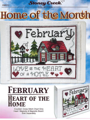 click here to view larger image of Home Of The Month - February (chart)