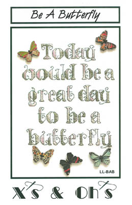 click here to view larger image of Be A Butterfly (chart)