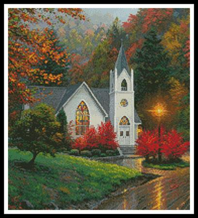 click here to view larger image of Autumn Chapel (Crop) (chart)