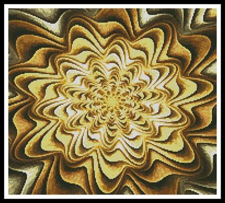 click here to view larger image of Fractal Abstract (Crop) (chart)