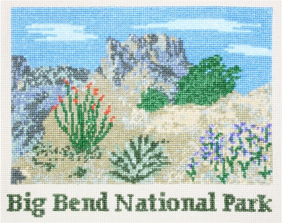 click here to view larger image of Big Bend (counted cross stitch kit)