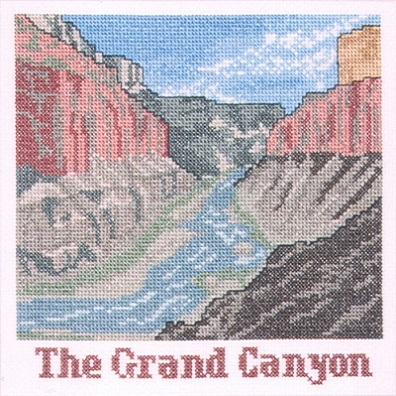 click here to view larger image of Grand Canyon (counted cross stitch kit)