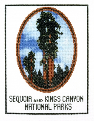 click here to view larger image of Majestic Sequoia, The (counted cross stitch kit)