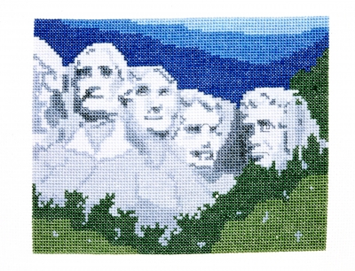 click here to view larger image of Mount Rushmore National Memorial (counted cross stitch kit)