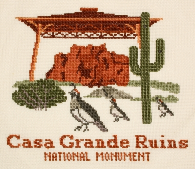 click here to view larger image of Casa Grande Ruins (counted cross stitch kit)