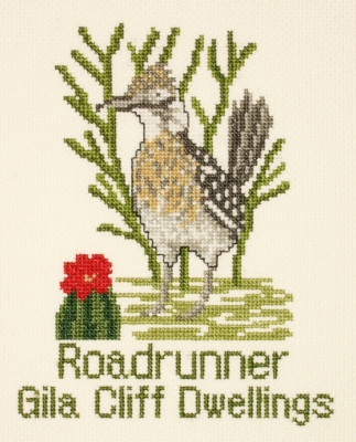 click here to view larger image of Roadrunner (counted cross stitch kit)