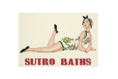 click here to view larger image of Sutro Baths (counted cross stitch kit)