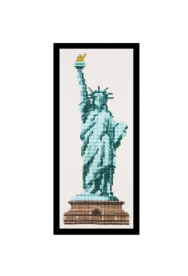 click here to view larger image of Statue Of Liberty (counted cross stitch kit)
