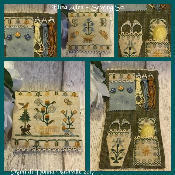 click here to view larger image of Eliza Allen Sewing Set (chart)