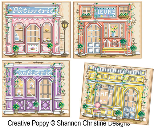 click here to view larger image of Parisian Shoppes (chart)