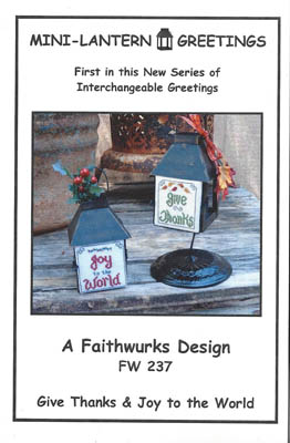 click here to view larger image of Mini Lantern Greetings 1 (Chart only) (chart)