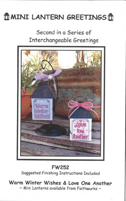 click here to view larger image of Mini Lantern Greetings 2 (Chart only) (chart)