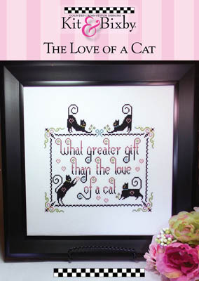 click here to view larger image of Love Of A Cat (chart)