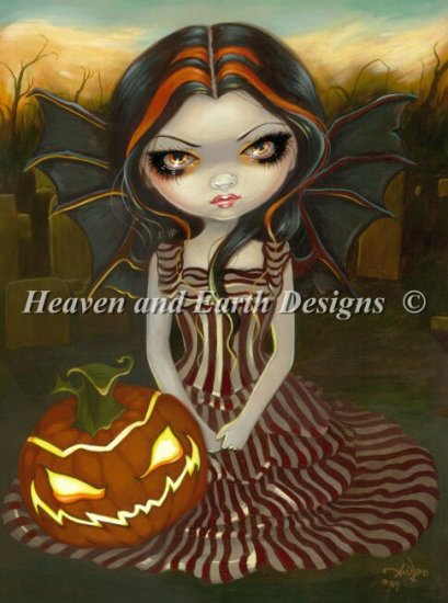 click here to view larger image of Mini Halloween Twilight - No Background (chart)