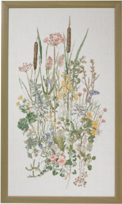 click here to view larger image of Water Plants (counted cross stitch kit)