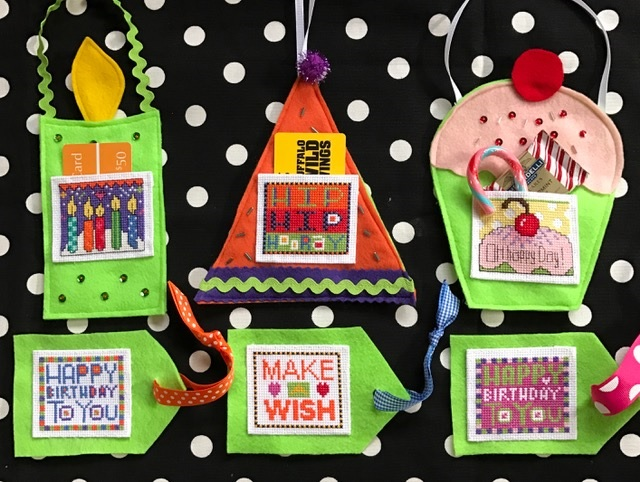 click here to view larger image of Pocket Cards (chart with charms/buttons)