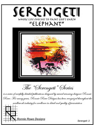 click here to view larger image of Serengeti Elephant (chart)