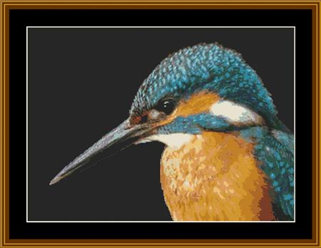 click here to view larger image of Kingfisher Portrait (chart)