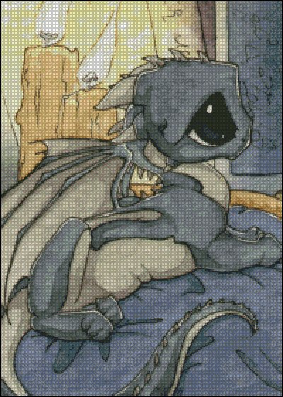 click here to view larger image of Lap Dragon (chart)