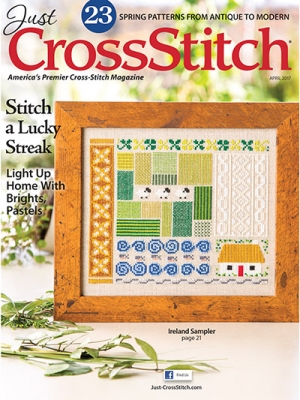 click here to view larger image of Just Cross Stitch - March/April 2017 (magazines)