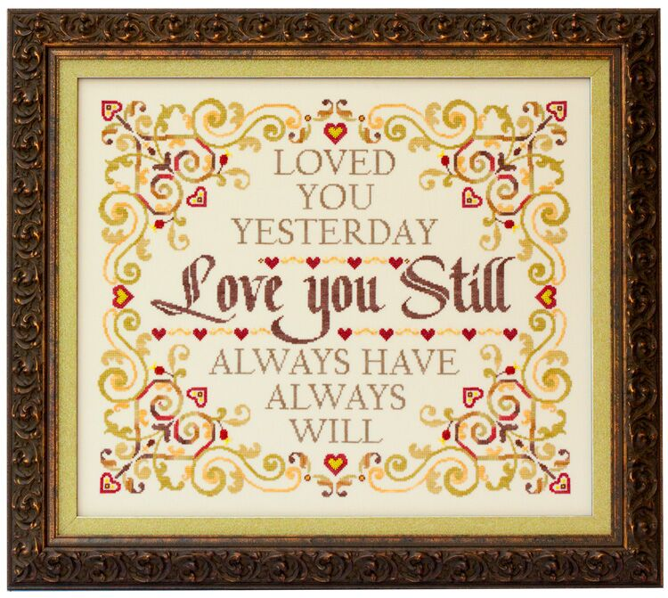 click here to view larger image of Love You Still (chart)