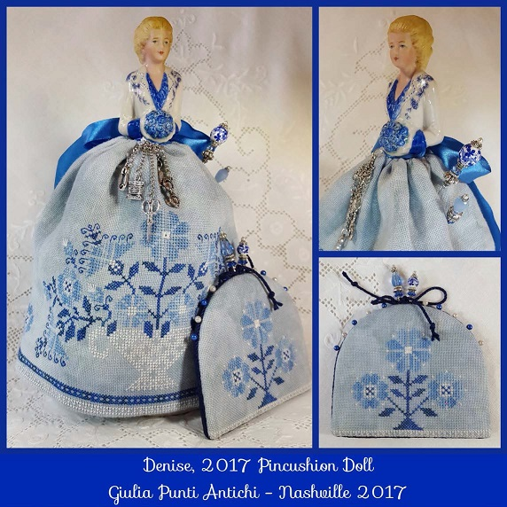click here to view larger image of Denise - 2017 Pincushion Doll (chart)