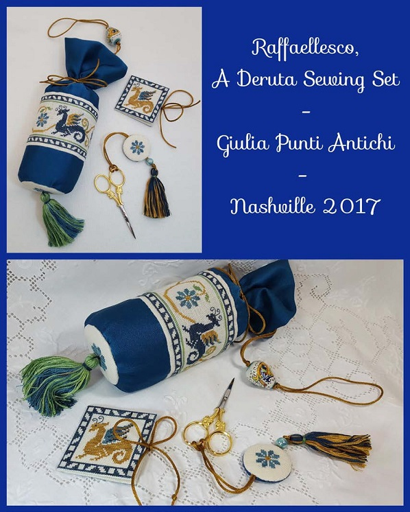 click here to view larger image of Raffaellesco - A Deruta Sewing Set (chart)