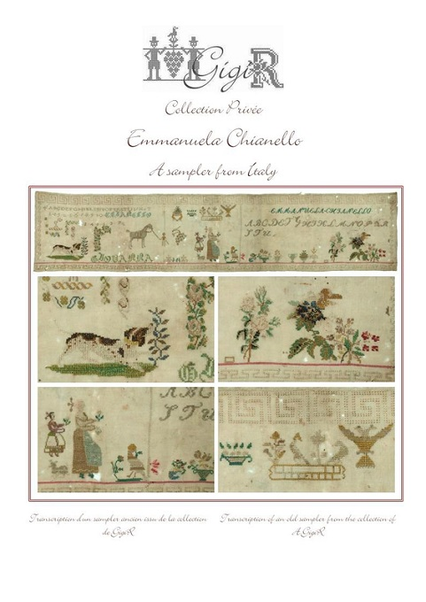 click here to view larger image of Emmanuela Chianello - A Sampler From Italy (chart)