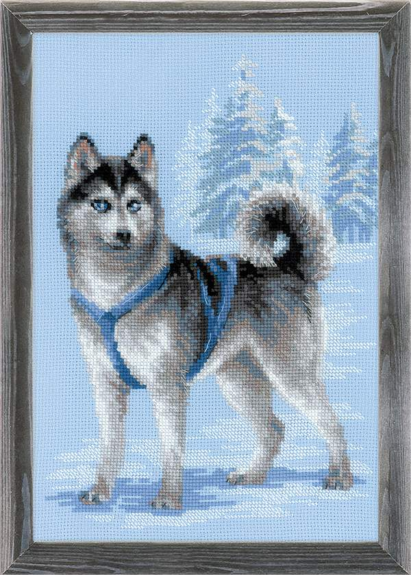 click here to view larger image of Husky (counted cross stitch kit)