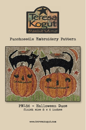 click here to view larger image of Halloween Duos - Punch Needle (Punchneedle)