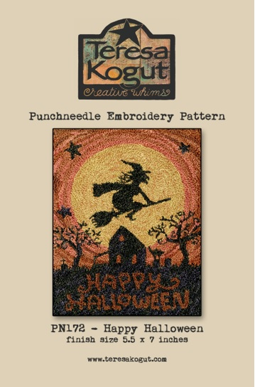 click here to view larger image of Happy Halloween - Punch Needle (Punchneedle)