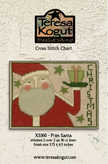 click here to view larger image of Prim Santa (chart)