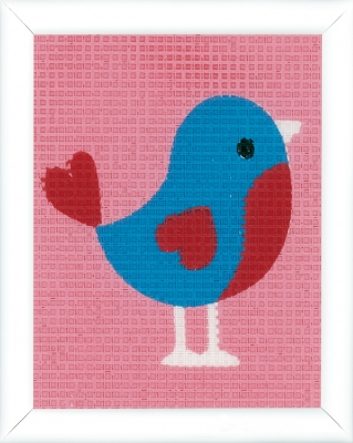 click here to view larger image of Bird Canvas Kit (needlepoint)