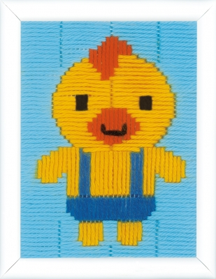 click here to view larger image of Duck Long Stitch (needlepoint)