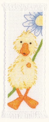 click here to view larger image of Popcorn - Souffle Bookmark (counted cross stitch kit)