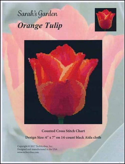 click here to view larger image of Orange Tulip - Sarahs Garden Series (chart)