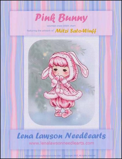 click here to view larger image of Pink Bunny (chart)