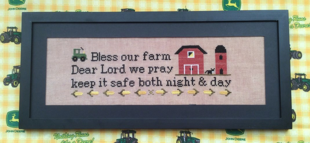 click here to view larger image of Bless Our Farm (chart)