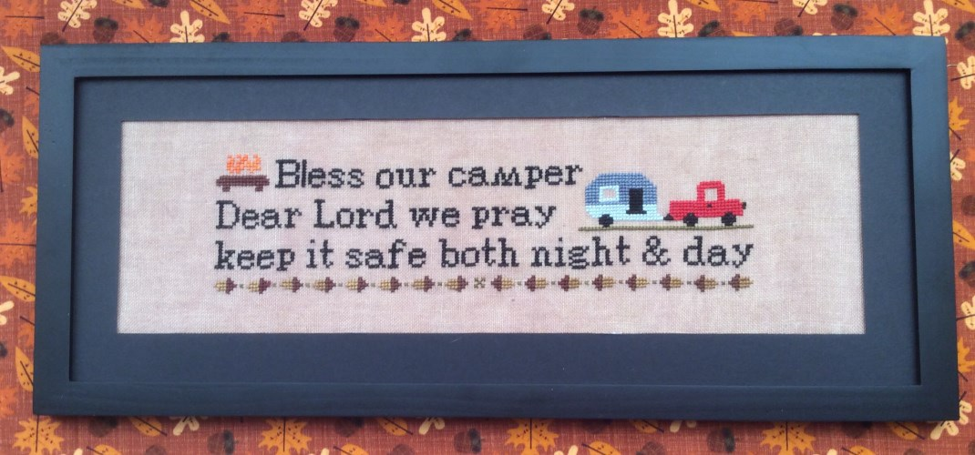 click here to view larger image of Bless Our Camper (chart)