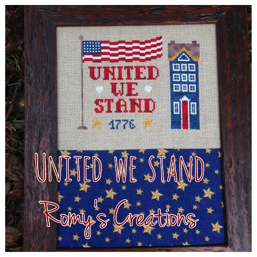 click here to view larger image of United We Stand  (chart with charms/buttons)